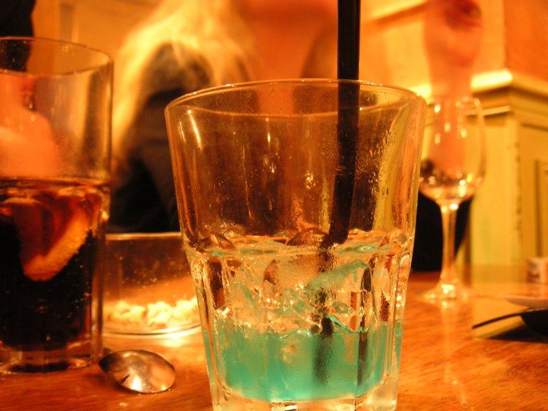 Cocktail au Pure Café