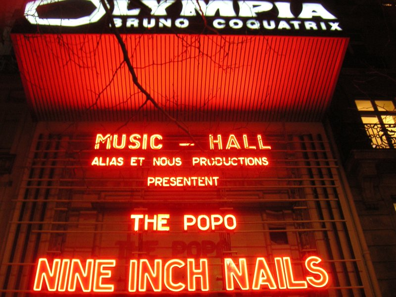 Nine Inch Nails à l'Olympia