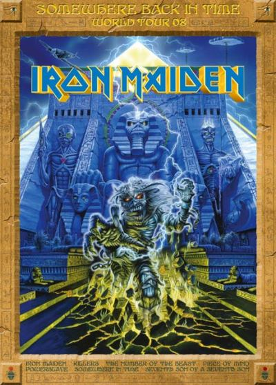 Iron Maiden - Somewhere Back In Time World Tour 08