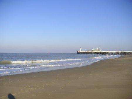 La plage d'Ostende
